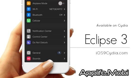 Eclipse 3 – Chế độ ban đêm cho iOS 9