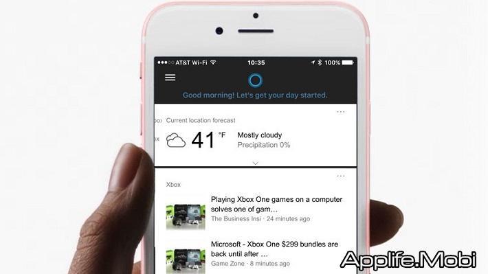 Cortana cho Android iOS