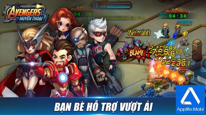Avengers Huyen Thoai - Game bắn súng hay cho Android iOS