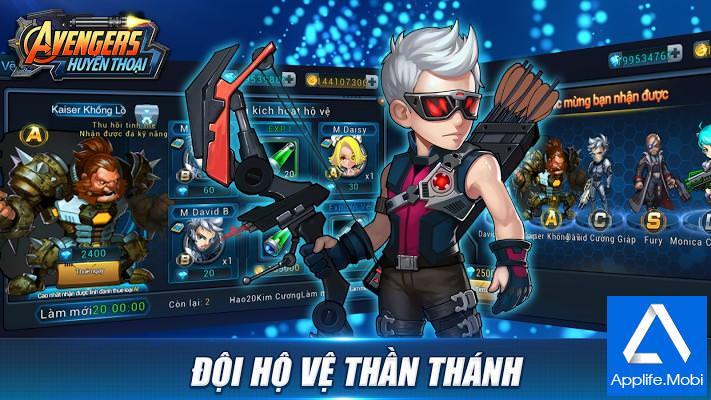 Avengers Huyen Thoai - Game bắn sung góc nhìn thứ Ba