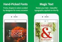 Adobe Post - Ứng dụng thiết kế chữ