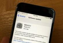 Apple phát hành iOS 9.2.1