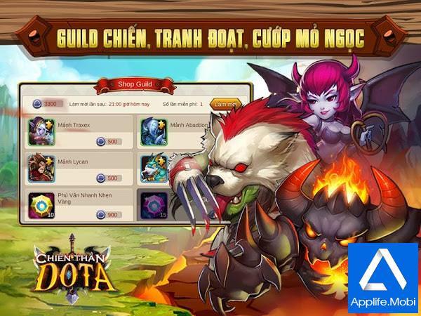 Chiến thần DotA - Game DotA cho điện thoại