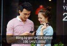 Gói cước SMS1K của Viettel