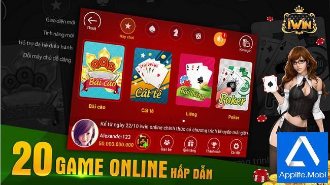 iWin Online - Game đánh bài hấp dẫn