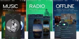 Ứng dụng nghe nhạc XMusic Premium của NCT