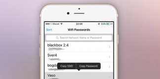 Lấy lại mật khẩu một cách đơn giản và nhanh chóng với WiFi Passwords List