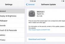 Link tải iOS 9.3.1 cho iPhone, iPad và iPod Touch