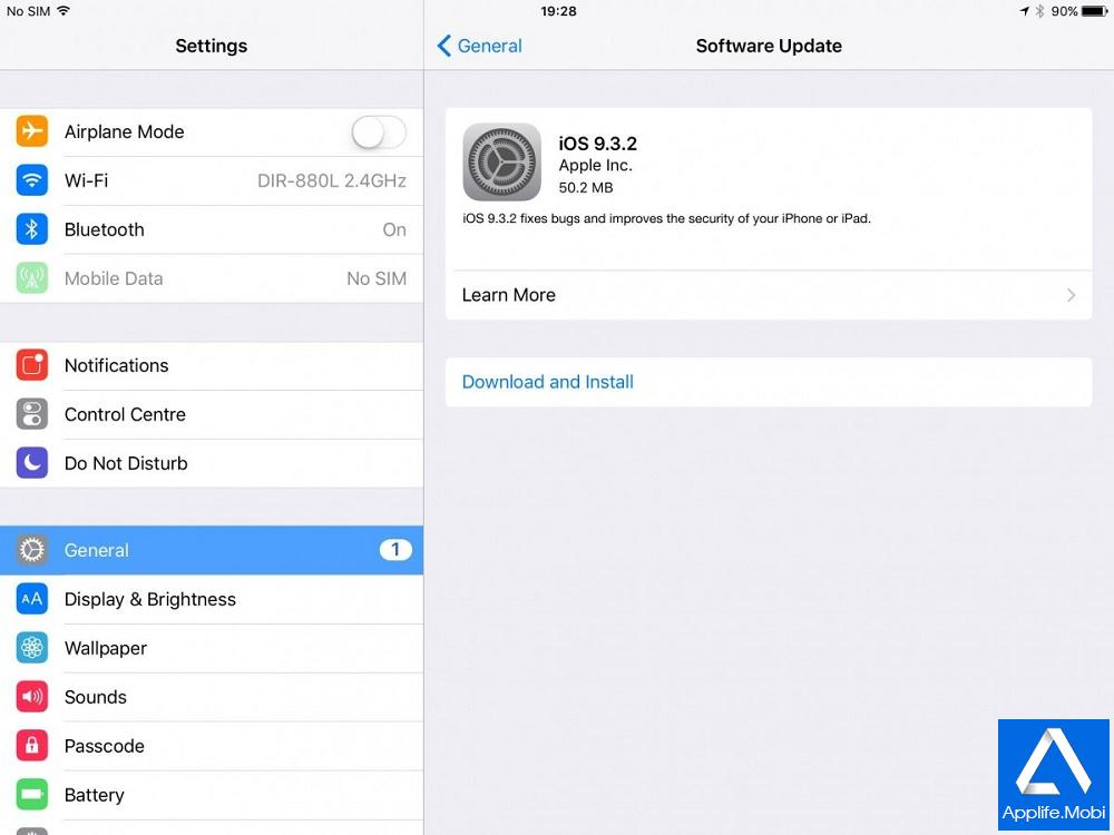 Link tải iOS 9.3.2 cho iPhone, iPad, iPod Touch