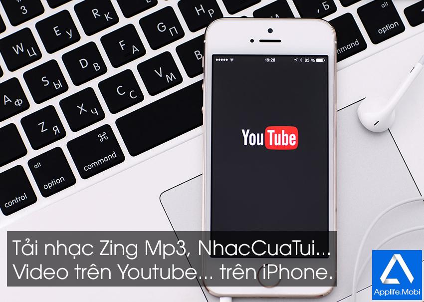 tai nhac, video youtube tren iphone